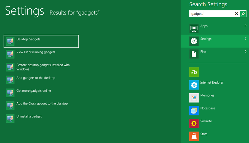 How to Enable Windows 8 / 8 1 / 10 Sidebar Gadgets